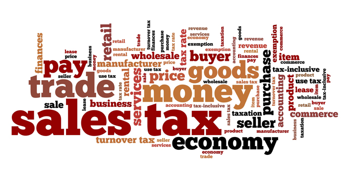 Sales Tax Text